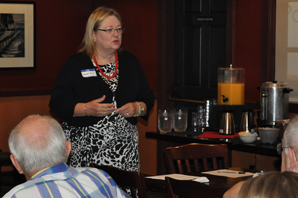 Williamson County Tax Assessor-Collector Deborah Hunt addressed the CASE membership.